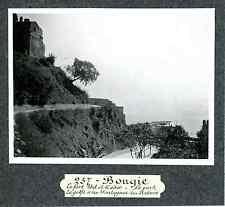 Algérie, Bougie, le fort Abd el Kader  Vintage print Tirage argentique  7,5x