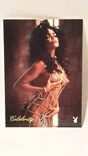 Playboy de tarjeta celebrity noviembre de 1991 Latoya Jackson #3LJ Playboy 1994