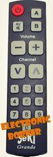 SeKi GRANDE mando a distancia universal (negro) NUEVO