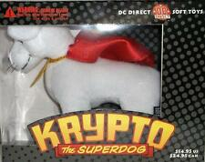 DC Direct Krypto The Superdog Soft Toy Superman's Pet Dog RARE Hard to Find