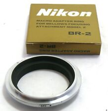 Nikon BR-2 Macro Adapter Ring for Bellows Focusing Attachment Model 2 MINT-