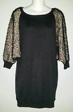 TSUMORI CHISATO Black and White Fluff Sheer Back with Stars Top Blouse