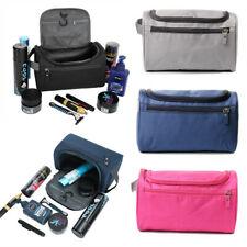 Waterproof Travel Wash Bag Mens Women Toiletry Organizer Shaving Cosmetic Case