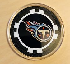 NFL Tennessee Titans Poker Chip Card Protector Marker Collect