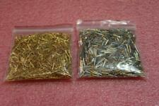 Lot 15.6oz Mil Spec Gold Plated Contact pins  Male + Female Match  Scrap or Not