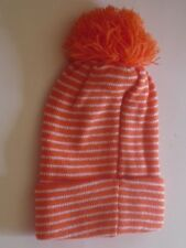 Kids Beanie Child Hat Orange Scull Skull Head Cap Beanie Sock See My Other Items
