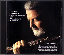 James Galway: Malcolm Arnold Flute Concerto No. 2 Sonata divertimento Marriner CD