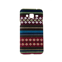 Funda para móvil de stoff-case Samsung Galaxy J3 2016 estuches carcasa BRAUN