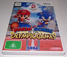 Mario & Sonic at the Olympic Games Nintendo Wii PAL *Complete* Wii U Compatible