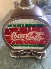 estate Coca-Cola Cookie Jar AM/FM Radio Rare