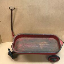 """Vintage Red Wagon Length 30"""" x Width13"""" Used"""
