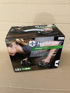 Harbinger Pushup Pro Stands Push Up Exercise Training NEW Boxed