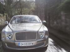 Bentley Mulsanne France Prospekt Brochure Catalogue 2010