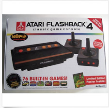 ATARI FLASHBACK 4 Classic Game Console SPECIAL EDITION 76 Games + Bonus Poster