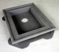 Mid America Split Mount Mini Vinyl Mounting Block Gray 30401057 #7hx