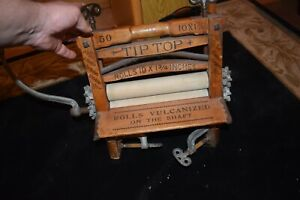NORVELL SHAPLEIGH HARDWARE CRANK CLOTHES ROLLER AMAZING TABLE MOUNT ST LOUIS