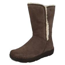 Clarks Suede Zip Low Heel (0.5-1.5 in.) Shoes for Women