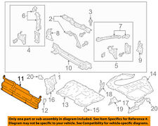 Scion TOYOTA OEM 13-16 FR-S Splash Shield-Cover Plate SU00301221