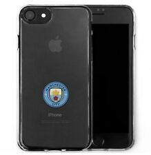 COQUE SKIN TPU TRANSPARENTE ★★ MANCHESTER CITY FC ★ OFFICIEL ★★ IPHONE 7 / 8