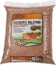 New listing 5 Qt Zilla Natural Desert Blend Walnut Shell Sand Reptile Vivarium Substrate