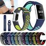 Für Fitbit Charge 3 4 Fitness Tracker Smartwatch Ersatzband Silikon Uhr Armband