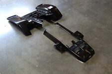 YAMAHA BANSHEE YFZ350 BLACK RACE FRONT AND STANDARD REAR FENDER  SET PLASTIC