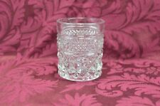 Anchor Hocking Wexford Votive Candle Holder Toothpick Holder Shot Glass VTG