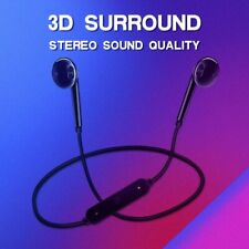 Wireless Headphones Earphone Sports 3D Stereo Built-In Microphone Earbud Headset