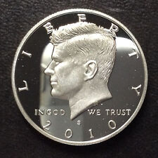 2010-S Kennedy Half Dollar DCAM Proof Silver U.S. Coin A4850