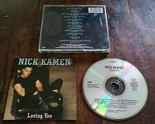 Nick Kamen - Loving You Rare German Press 7/12'' Versions (Madonna) Cd