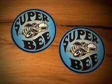 2x Super Bee ADESIVI Dodge Coronet Charger muscle car v8 Hemi MOPAR USA #080