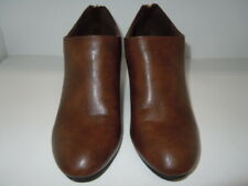 Journee Collection BROWN Wedged BOOTIES  Womens US size 7.M