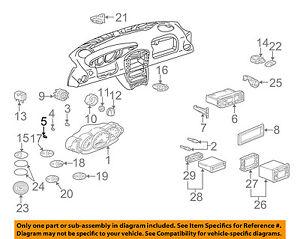 PORSCHE OEM 97-02 Boxster Dash Instrument Panel-Light Bulb 99963130290