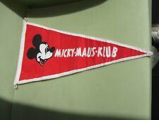 MICKY MAUS KLUB FLAG BIG SIZE VW BEETLE PORSCHE 356 911 GOOFY DONALD MOUSE RARE
