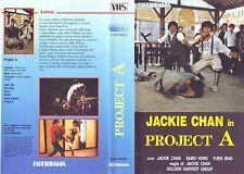 PROJECT A 'A' gai wak (1983) VHS ORIGINALE, EDIZIONE 1987 FUTURAMA 09AZS2V