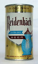 New ListingReidenbach Beer 12 oz. Flat Top Beer Can-Atlas Brewing, Chicago, Il.