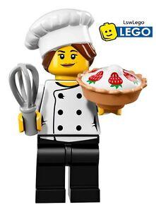 Lego Minifigures 71018 Series 17 - #3 Gourmet Chefs Sealed Minifigures