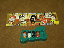 '03 Moose's Mighty Beanz - Series 2 - set of 4 & 5 cards FIGHTING team