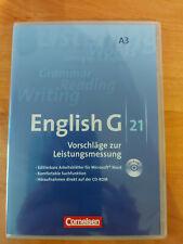 English G21 - A3 - Vorschläge zur Leistungsmessung - Lernsoftware
