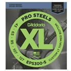 D'Addario EPS300-5 Tapered Round Wound 5 String Bass guitar strings 43-127 for sale