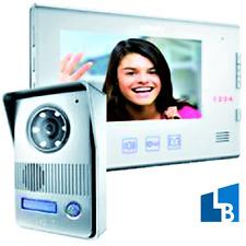 SOMFY V400 Farb Videotürsprechanlage Video Türsprechanlage Sprechanlage 1 WE Set