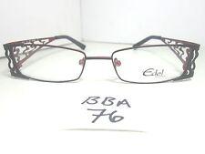 287cb6d7039 New EDEL EYEWEAR by JBC Eyeglass Frame EL227 MR057 Black Red Women s (BBA-76