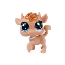 Littlest Pet Shop LPS Sparkle Spectacular Figure Glitter Brown Bull Cow Toy