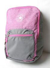 Converse Horizontal Zip Backpack (Pink Gray)