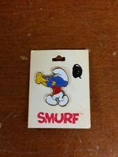 Vintage 1980 Smurfs Pin Harmony Smurf  *USED - READ DESCRIPTION*