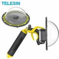 TELESIN Dome Port 30M impermeable funda de buceo para GoPro Hero 8
