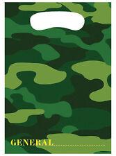 Army Camo Gear Favor Bags