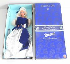 1995 Barbie - AVON Special Edition - WINTER VELVET BARBIE  -  MIB