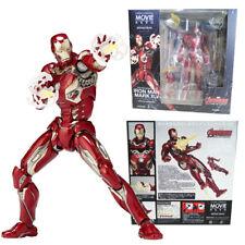 Kaiyodo Marvel Avengers Revoltech No.004 Iron Man Mark XLV 45 Action Figures Toy