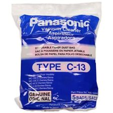 Panasonic Type C-13 Micron Vacuum Cleaner Bags / 5 pack